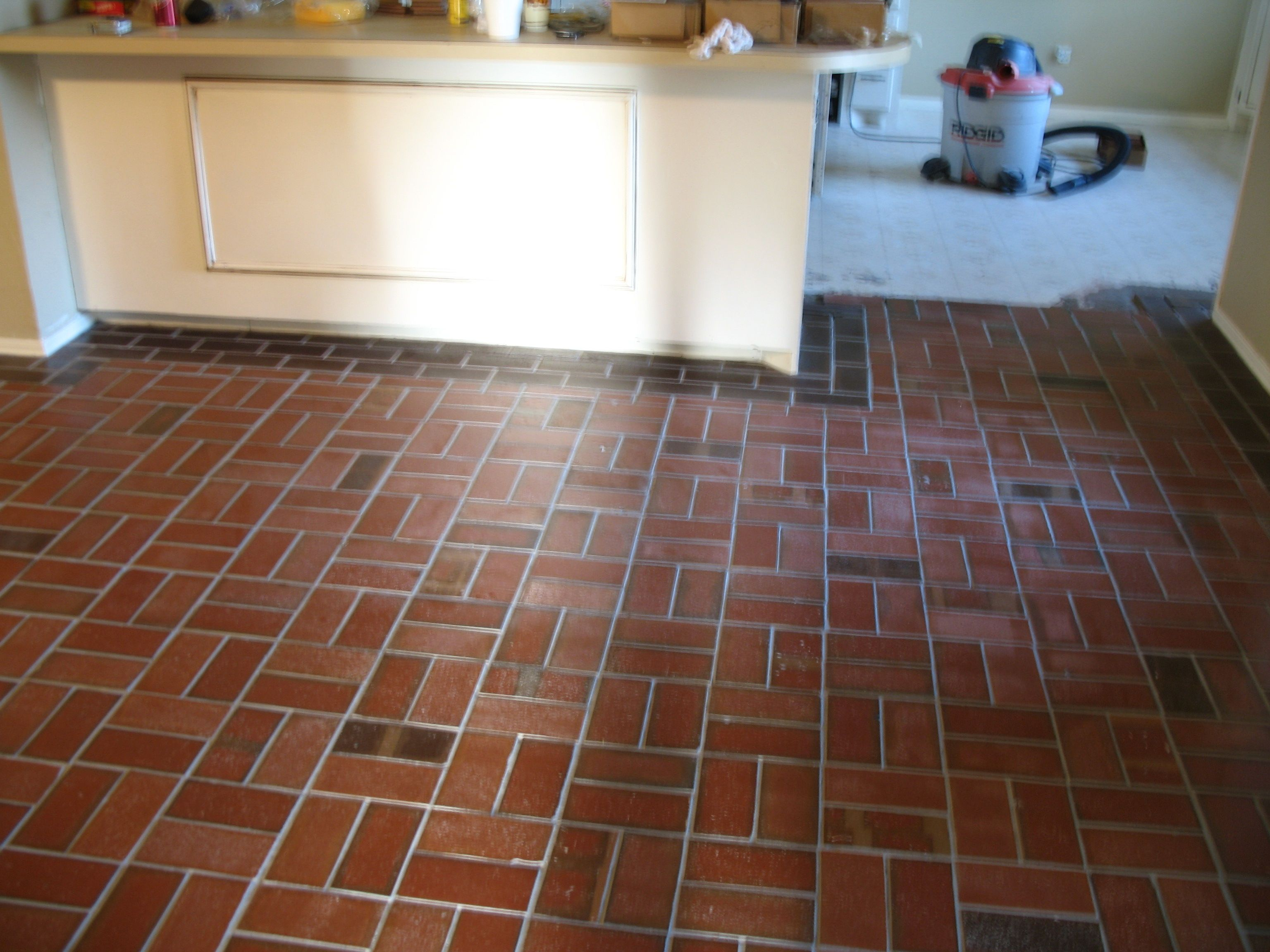Thin Clay Brick Tiles For Flooring Supplied By Metro Brick Stone