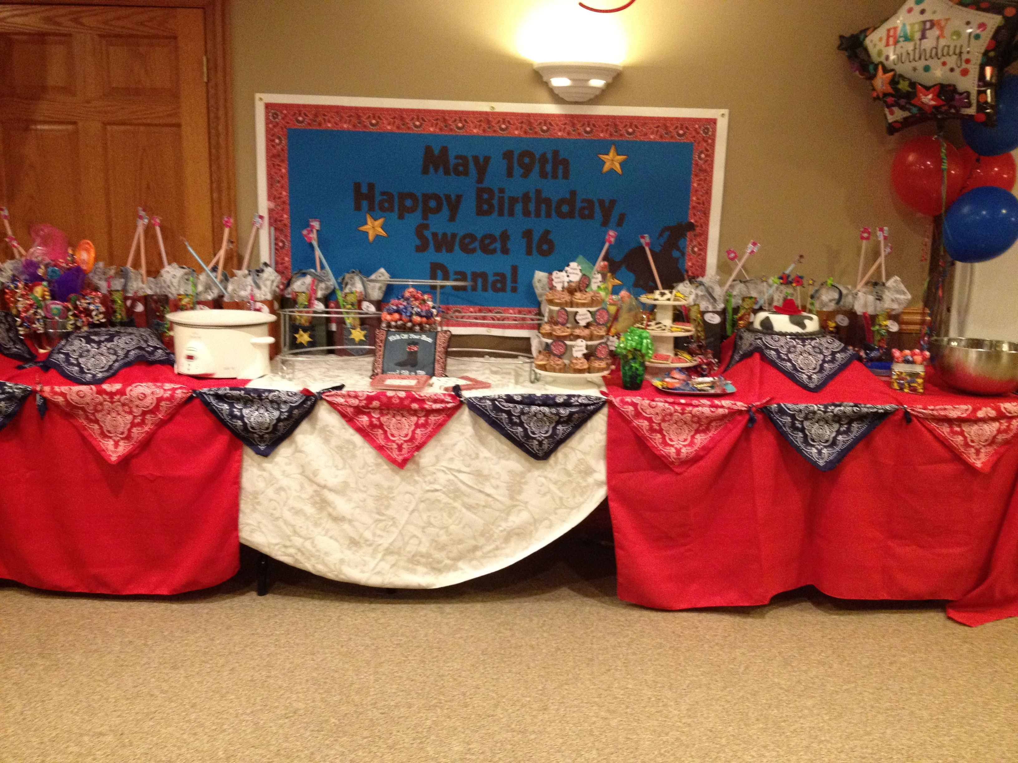 Lovely Western Theme Decorations Ideas Part - 1: Birthday Party Ideas