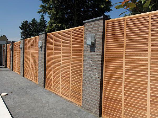 Holz Sichtschutz und Gartenzäune der Firma Clercx - Senco ...
