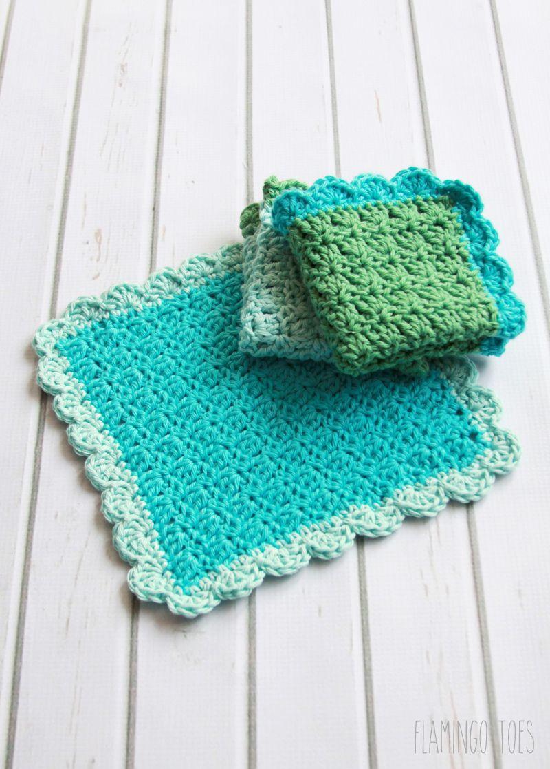 Crochet Dish Towel Pattern Amazing Decorating Ideas