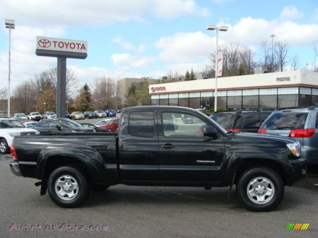2008 Toyota Tacoma V6 Sr5 Access Cab 4x4 In Black Sand Pearl 583893