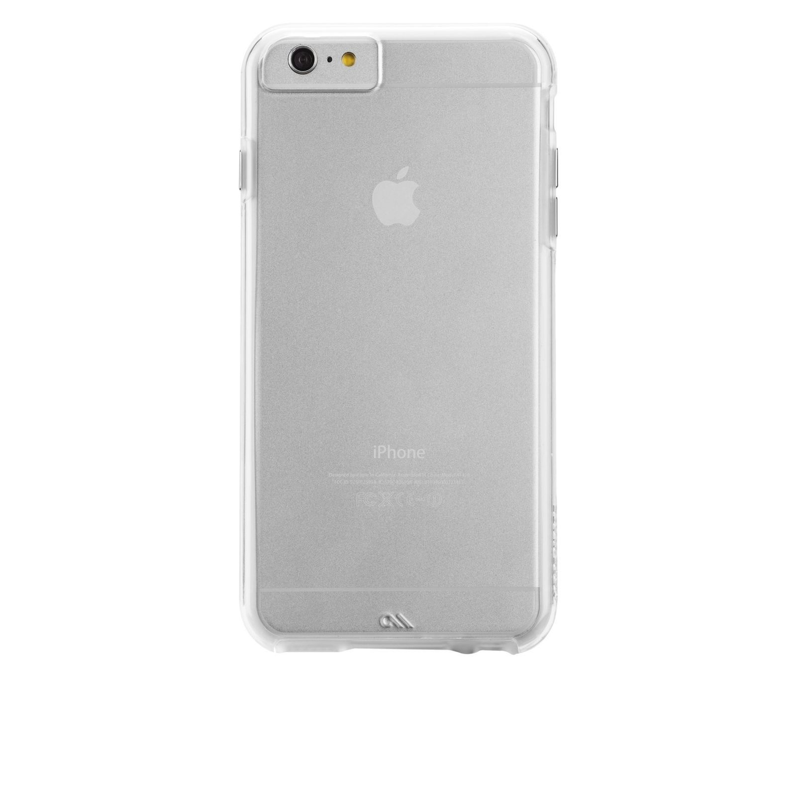 buy popular feda6 7b425 Case-Mate iPhone 6 Plus Case - NAKED TOUGH - Clear - Slim Protective ...
