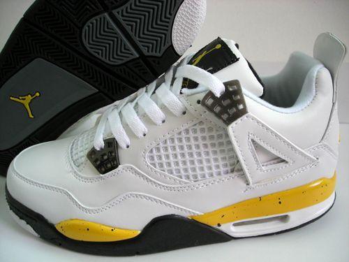 39647183a9f4 Air Jordan 4 Retro LS White Tour Yellow Dark Blue Grey Black