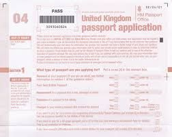 Image Result For Uk Passport Application Form Pdf  Book Cover
