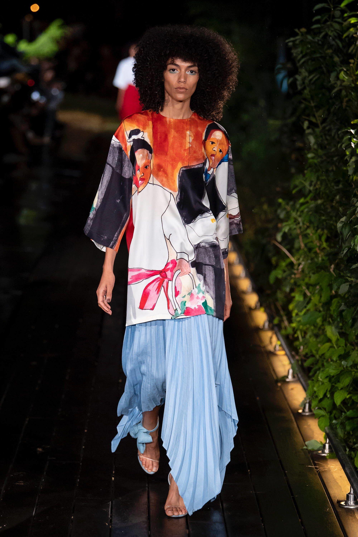 Pyer Moss Spring 2019 ReadytoWear Fashion Show Black