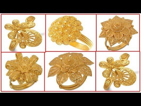 Stylish Gold Rings Designs Youtube Gold Ring Designs Beautiful Gold Rings Gold Jewelry Fashion
