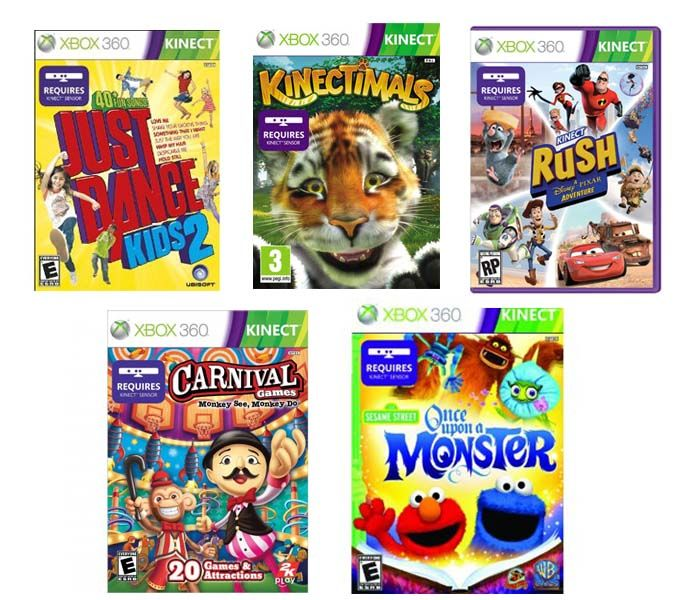 10 Best Xbox 360 Kinect Games For Kids Under 10 Christmas 2014