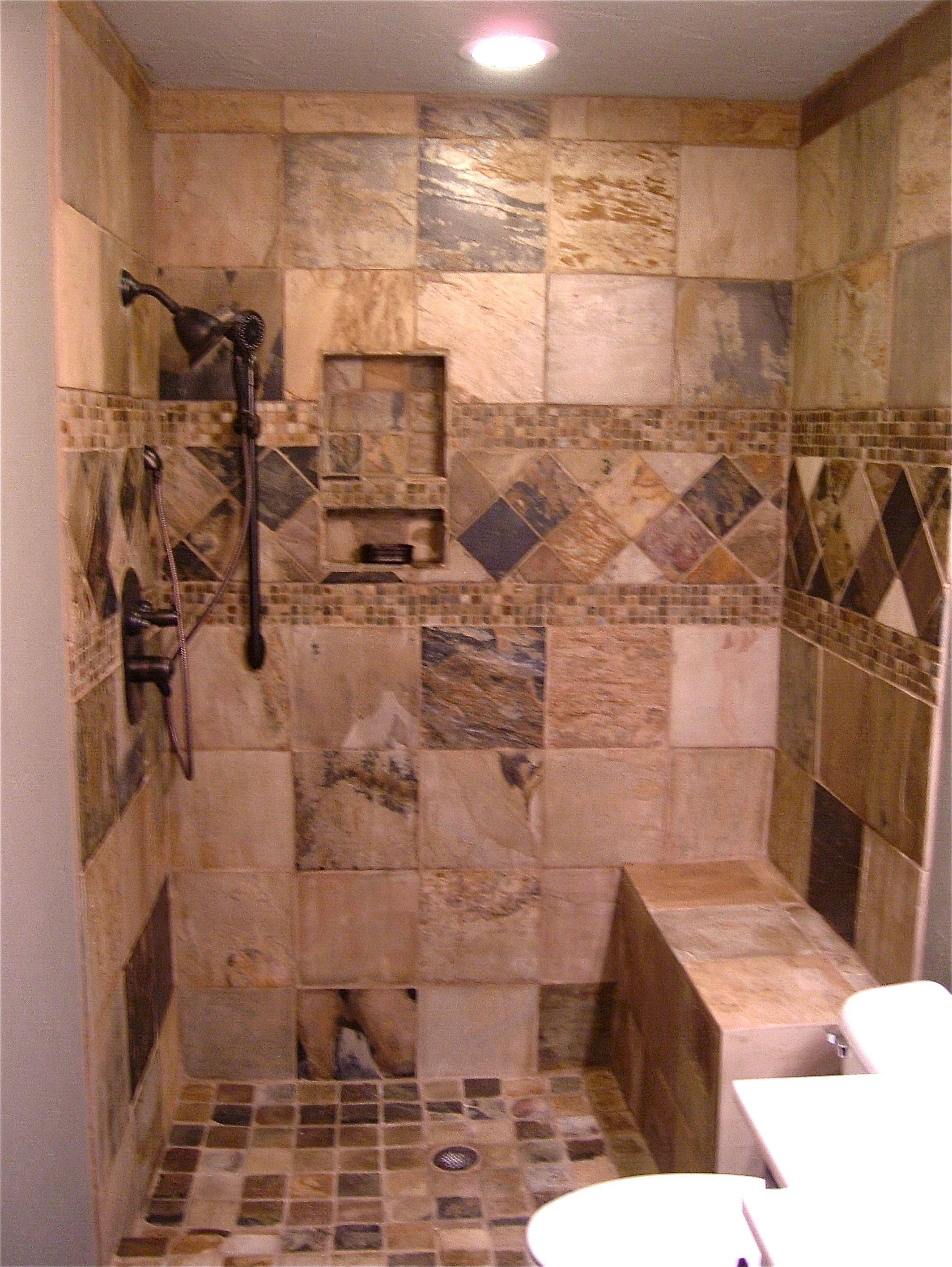Bathroom Remodel Edmond Ok oklahoma city & edmond showers and backsplash: we call this one
