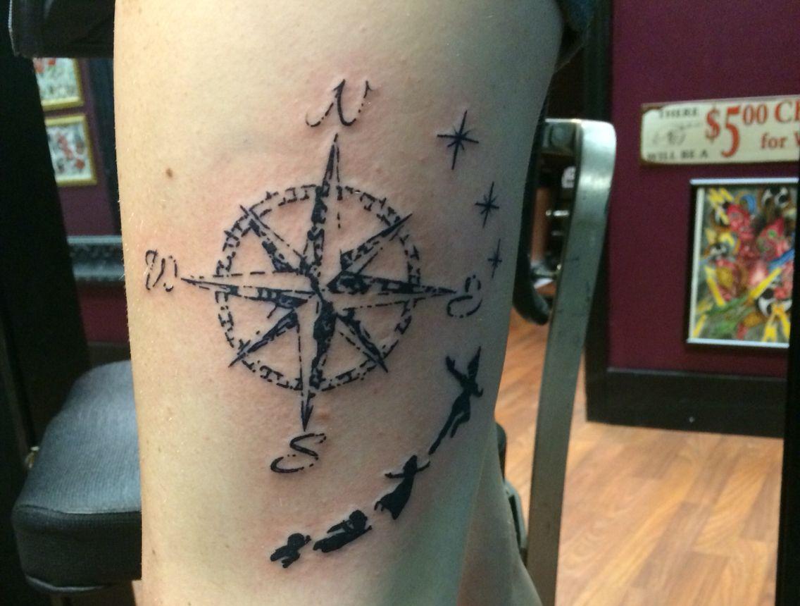 Peter Pan Tattoo For Guys