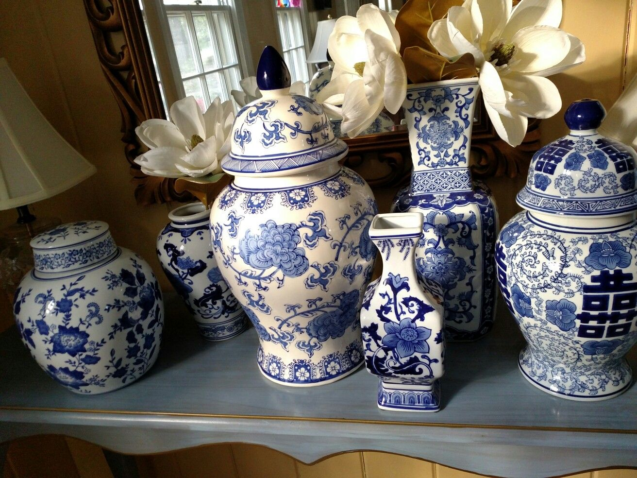 ginger jars and vases from home goods and marshalls - Ginger Jars