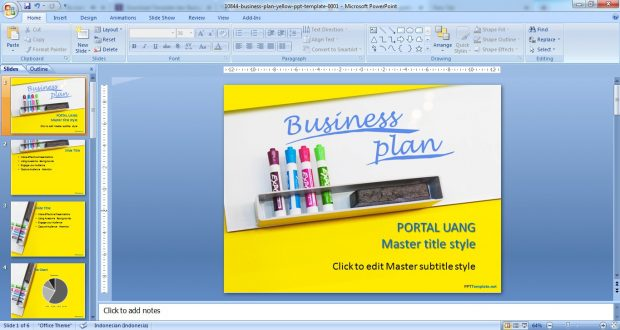 Download Template Ppt Keren Gratis 2019 Marketing Sekolah
