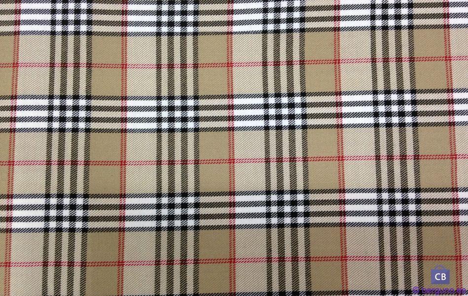 Tela de Cuadros Escoceses Beige tipo Burberry AGOTADO  abcf1689084