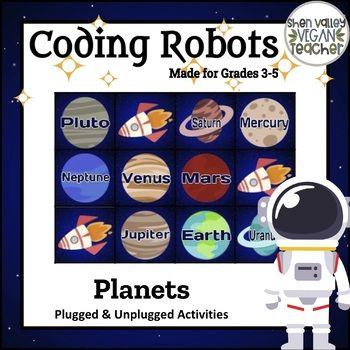 Coding Robots - Planets - Plugged & Unplugged