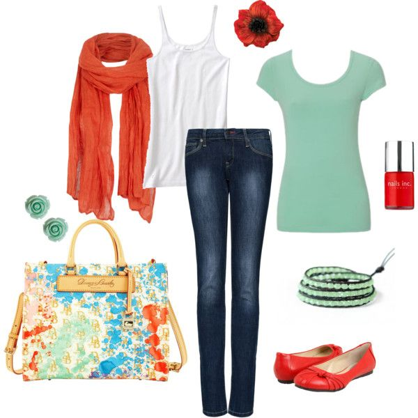 Spring Time Color, created by katiejeanne on Polyvore