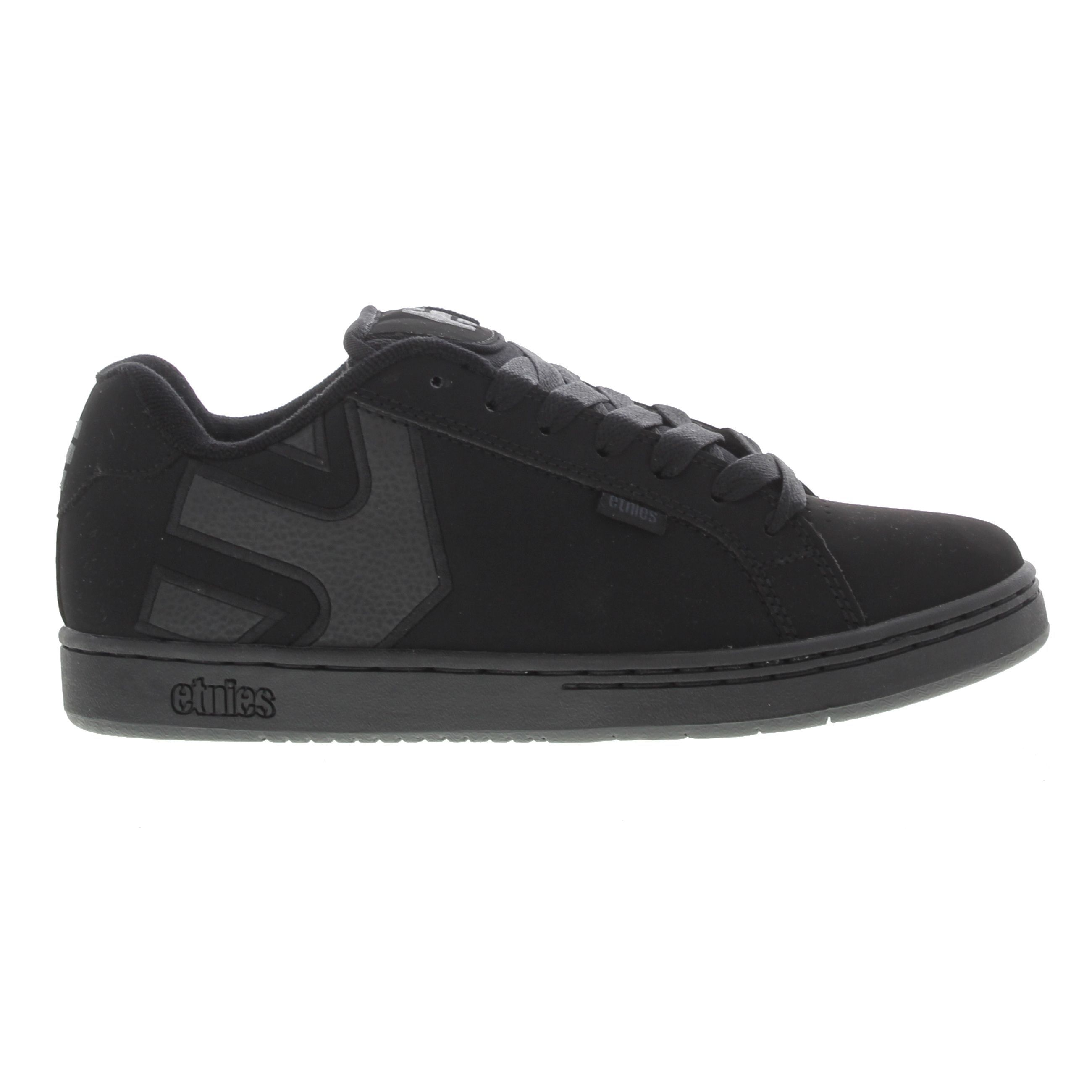 Black · Etnies Mens Fader Trainers - Black Dirty Wash