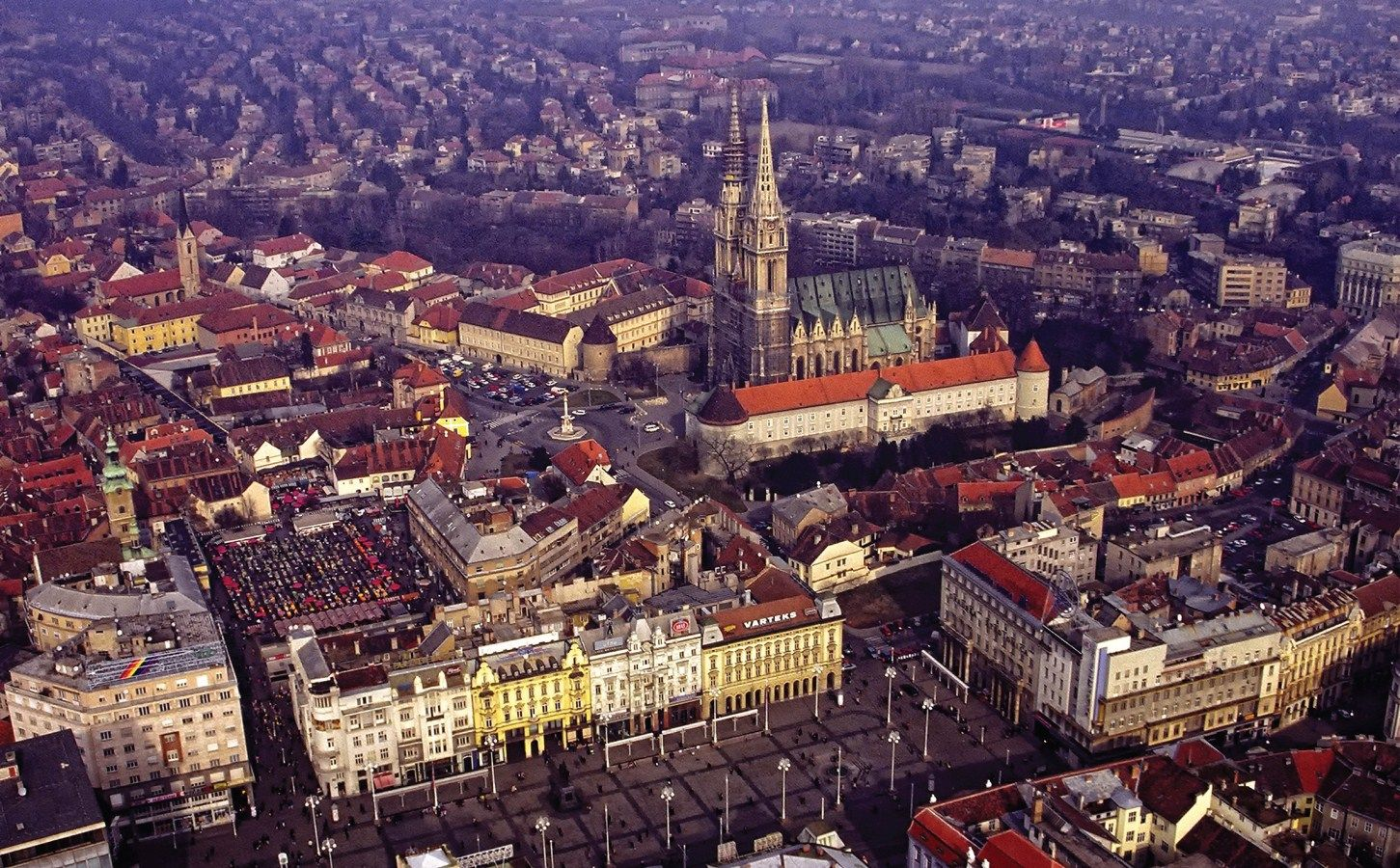 Zagreb Croatia Gallery Croatia From Air Croatia Zagreb E Albania