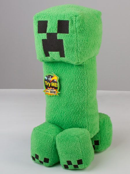 Minecraft Creeper Plush Toy With Sound Boys Headboards Pinterest