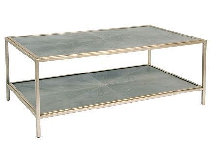 Transitional, French Art Deco Inspired Coffee Table By Pearson Furniture