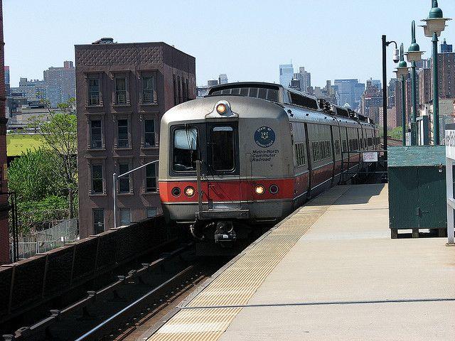 New York City Metro North Train Tren