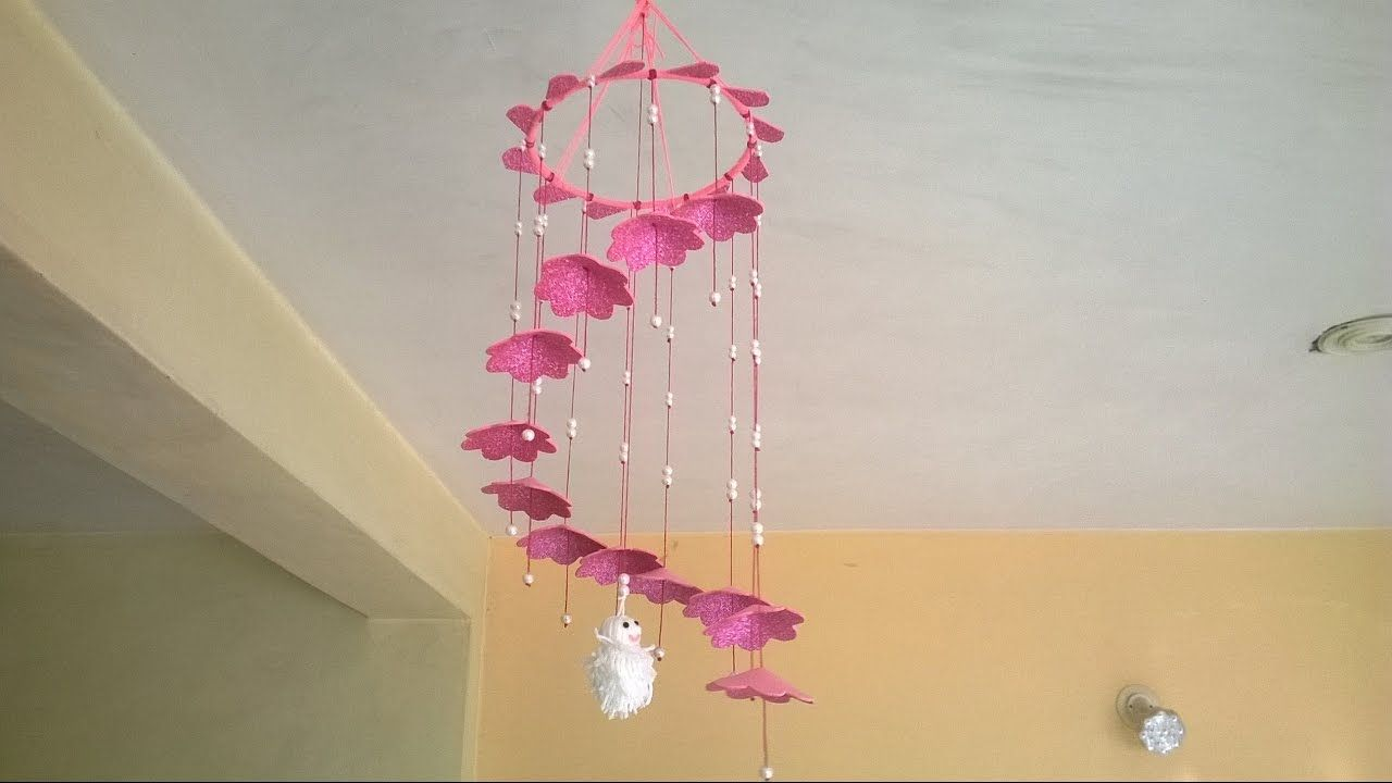 Movil En Goma Eva Diy Wall Hanging Home Decoration Idea