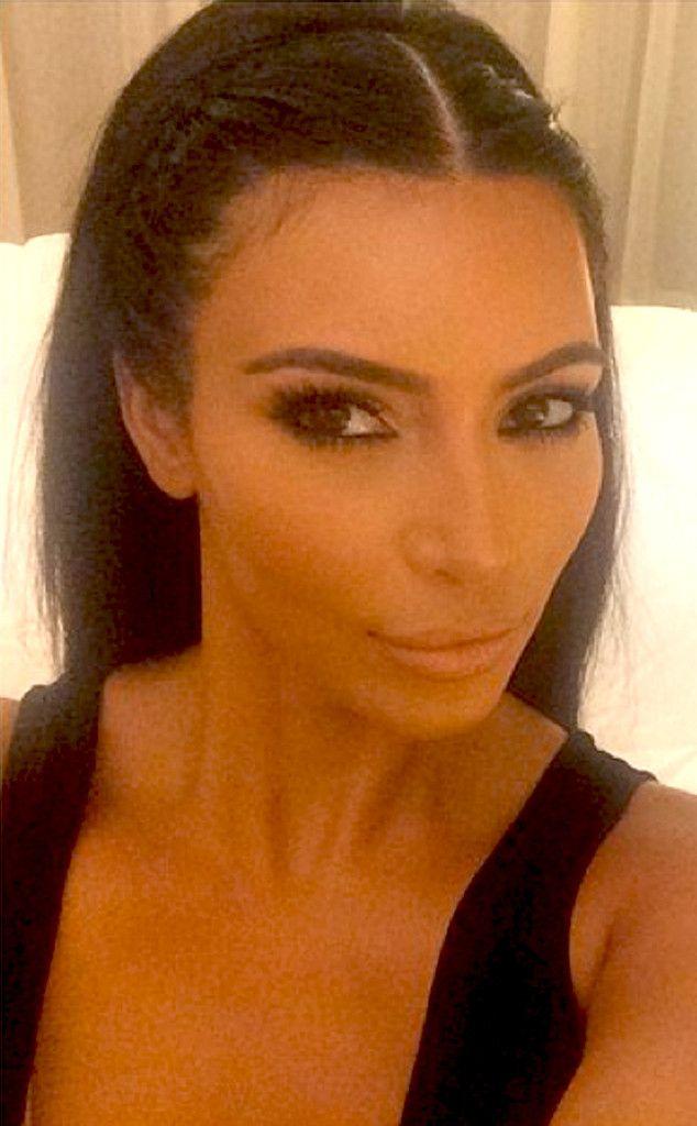 Kim Kardashian From 30 Days Of Celeb Braids Hair Pinterest
