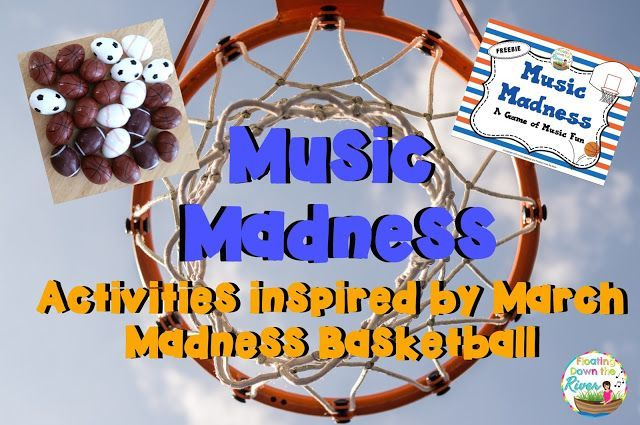 Music Madness Activities- Inspired by March Madness
