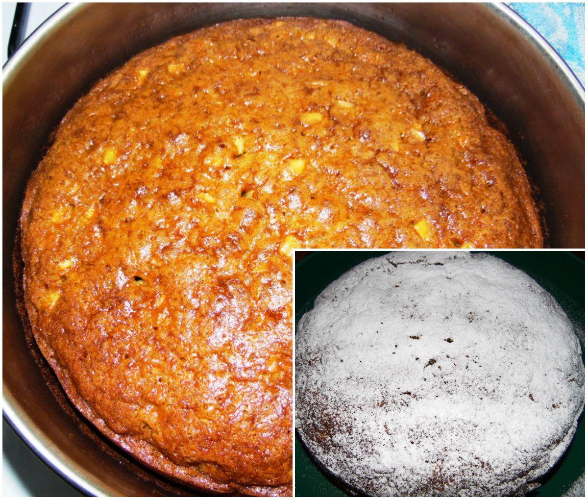 Банановый пирог с яблоком, фото рецепт | Яблоки, Еда и Выпечка