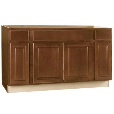 Hampton bay hampton assembled in sink base kitchen cabinet in the home depot
