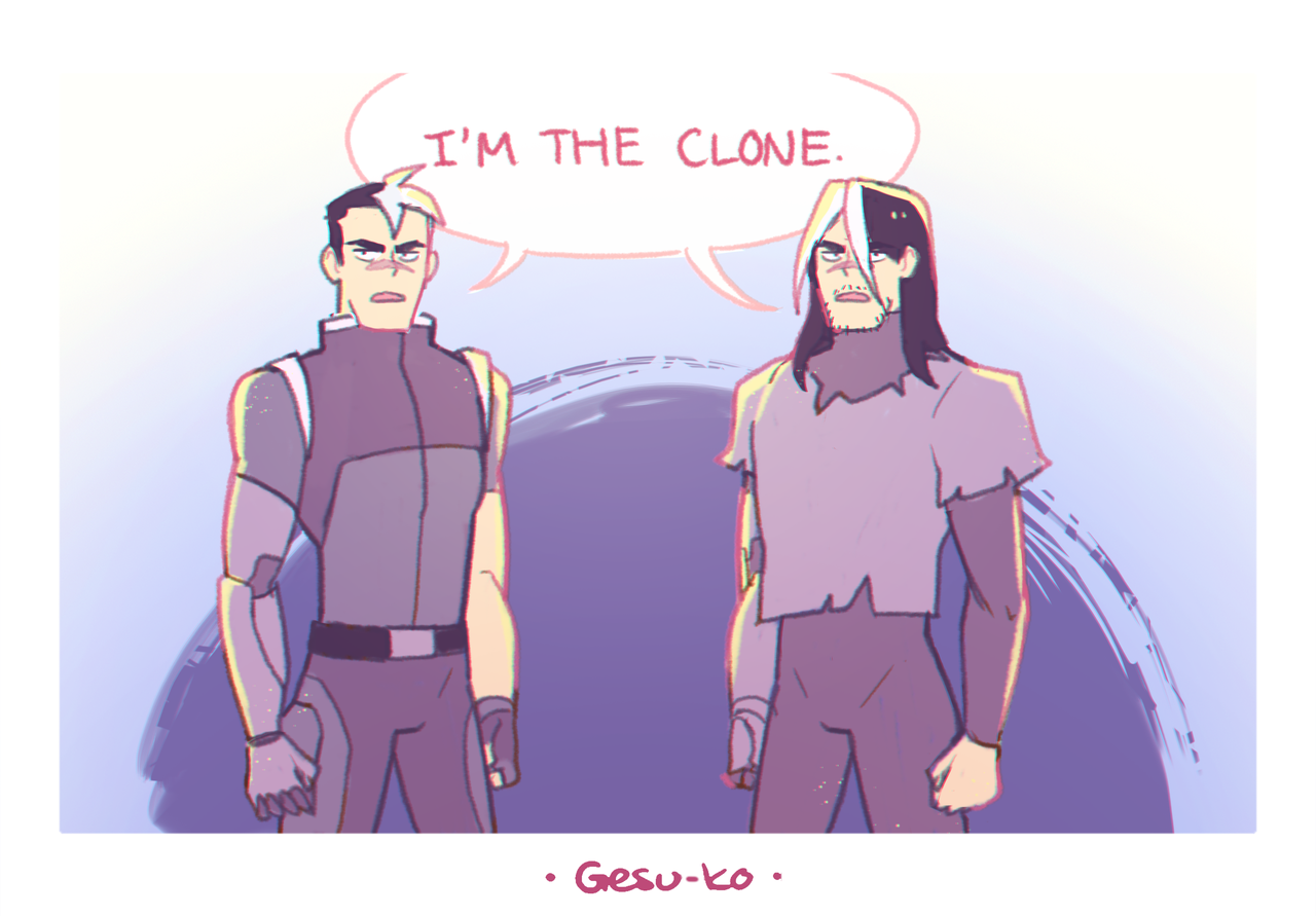 Trash Kid That S Me Galra Clones Are Just That Good Based On This Voltron Comics Voltron Voltron Fanart