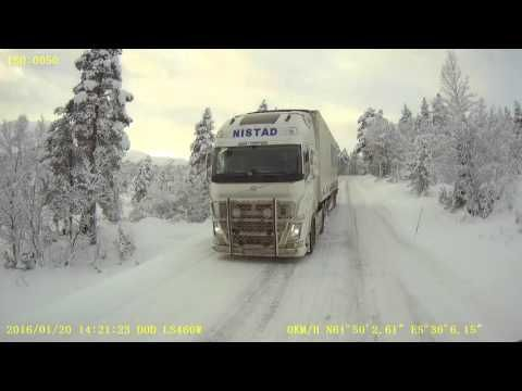 Ice road trucking in west Norway : )