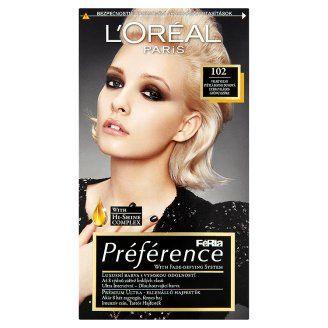 L Oréal Paris Féria Préférence Veľmi veľmi svetlá blond dúhová 102 ... 1a21acfaee9