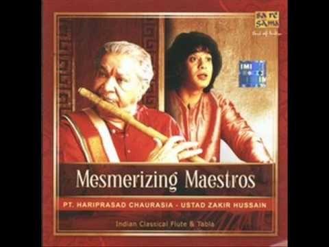 "Morning Ragas or track from album ""Making Music"" (1987) Tabla - Ustad Zakir Hussain Bansuri (Flute) - Hariprasad Chaurasia  Guitar - John McLaughin  Saxophone - Jan Garbarek"