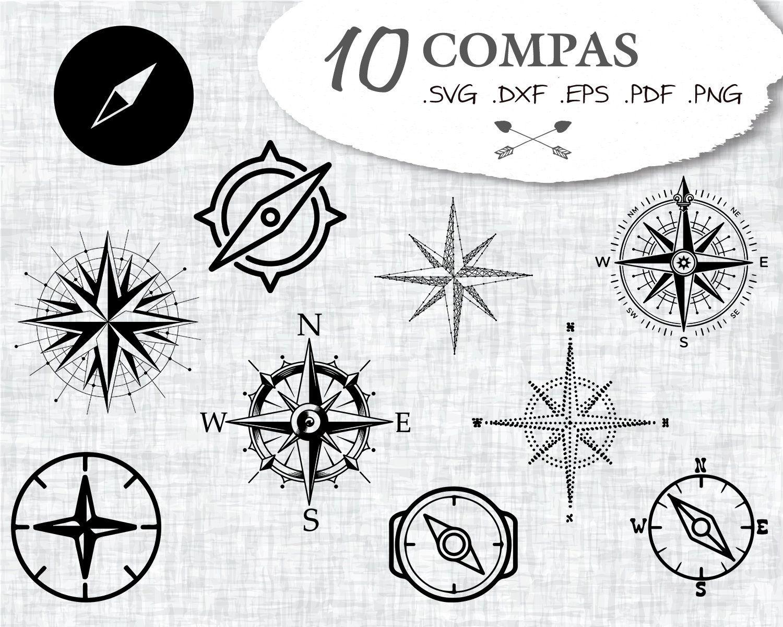 COMPAS SVG, compas, compass rose svg, compass svg, compas