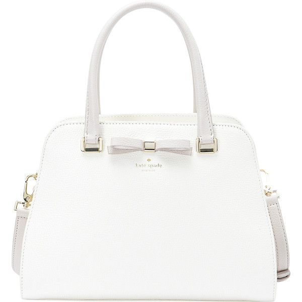 Kate Spade New York Henderson Street Sawyer ($358) ❤ liked on Polyvore featuring bags, handbags, white, kate spade handbag, shoulder strap purses, kate spade purses, kate spade bags and shoulder strap bag