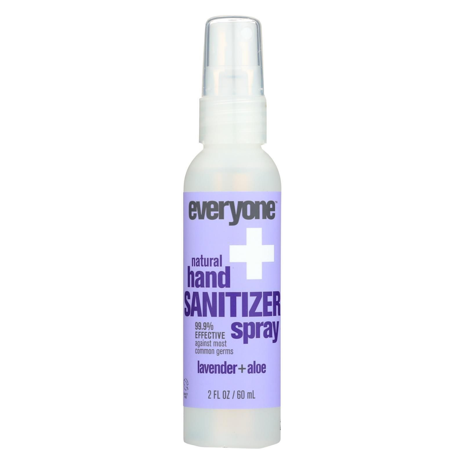 Everyone Sanitizer Spray Lavender Aloe Case Of 6 2 Fl Oz