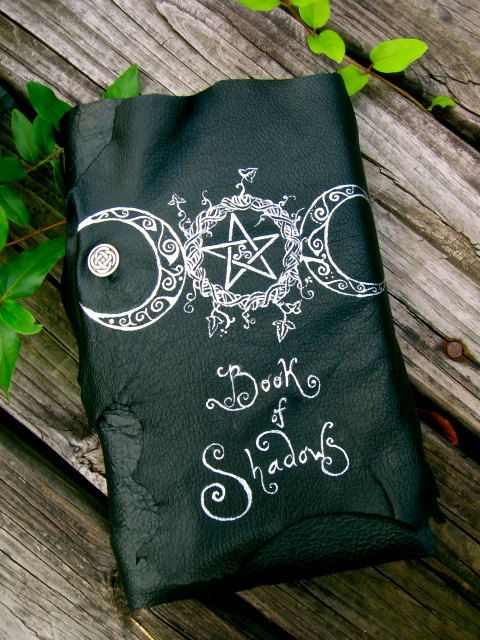 RESERVED Triple Goddess Book of Shadows by EireCrescent on Etsy