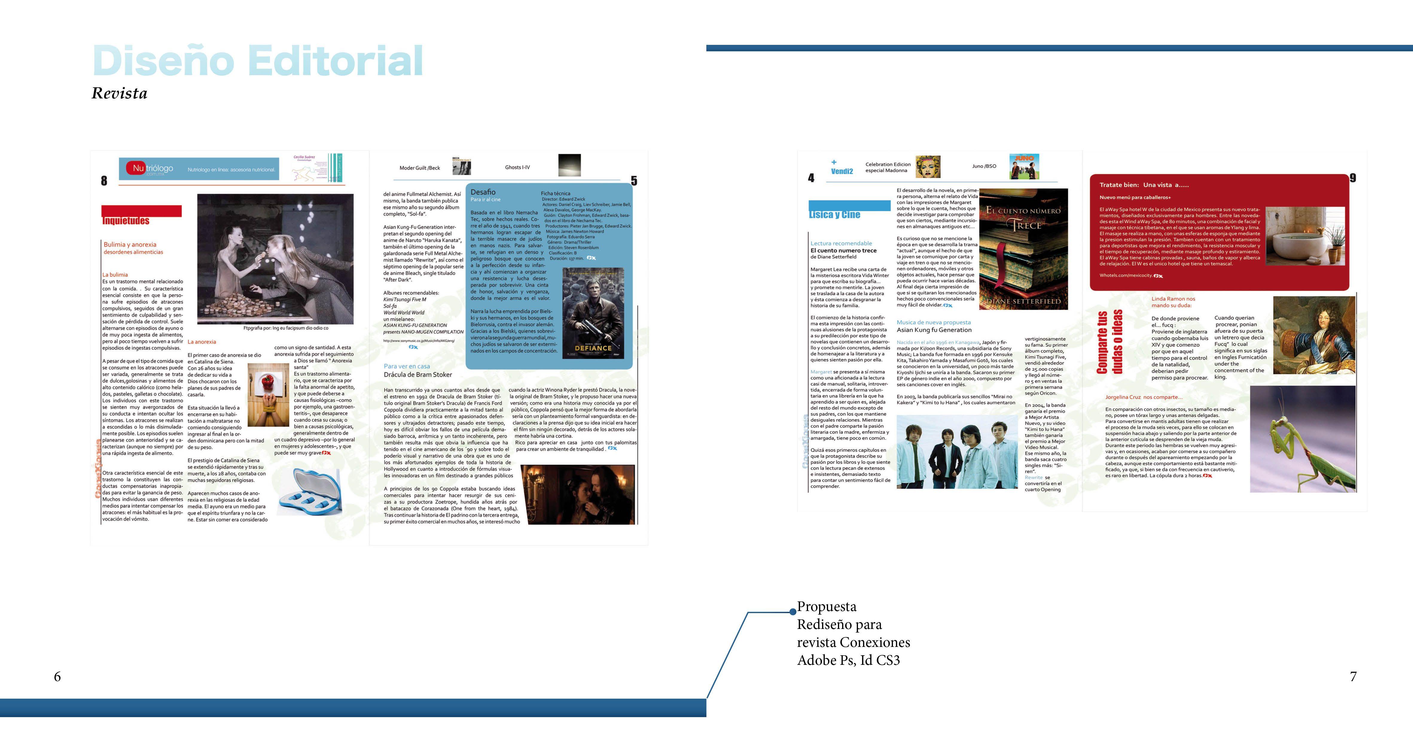Pin De Xilef Galadriel En Portafolio 2015 Diseño Editorial Editorial Revista Disenos De Unas