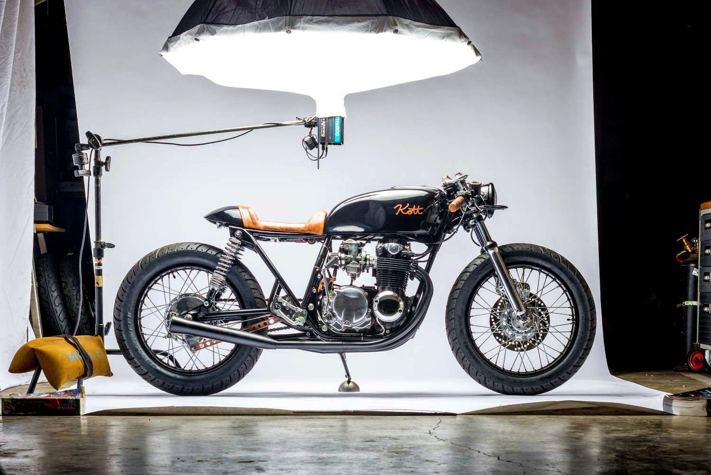 Kott motorcycles - Black and Copper 550