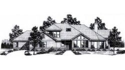 Contemporary Style House Plans - 3408 Square Foot Home, 2 Story, 3 Bedroom and 3 3 Bath, 3 Garage Stalls by Monster House Plans - Plan 3-130