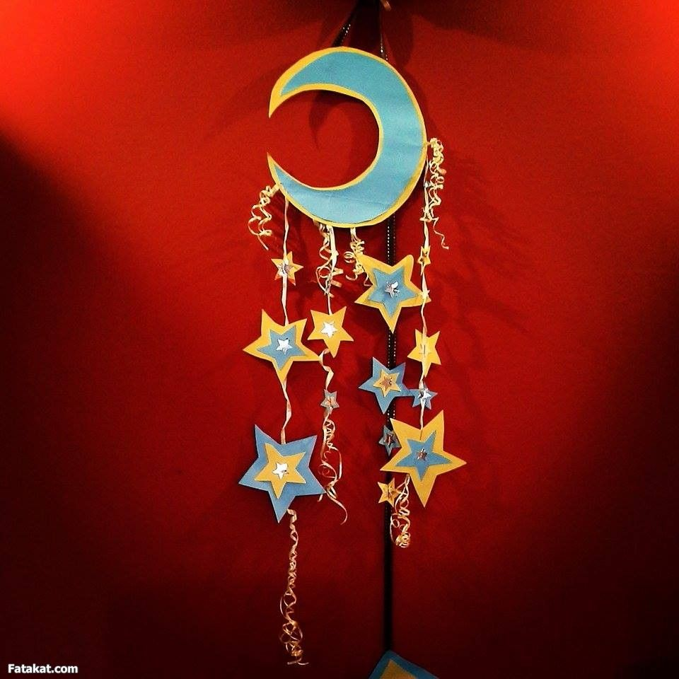 زينة رمضان للأطفال جاااااااامدة جداااااا و فكرة جديدة منتدى فتكات Ramadan Crafts Ramadan Decorations Ramadan Lantern