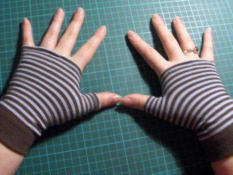 Sock Gloves #glovesmadefromsocks