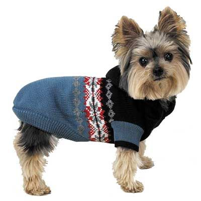 free dog fleece sweater pattern