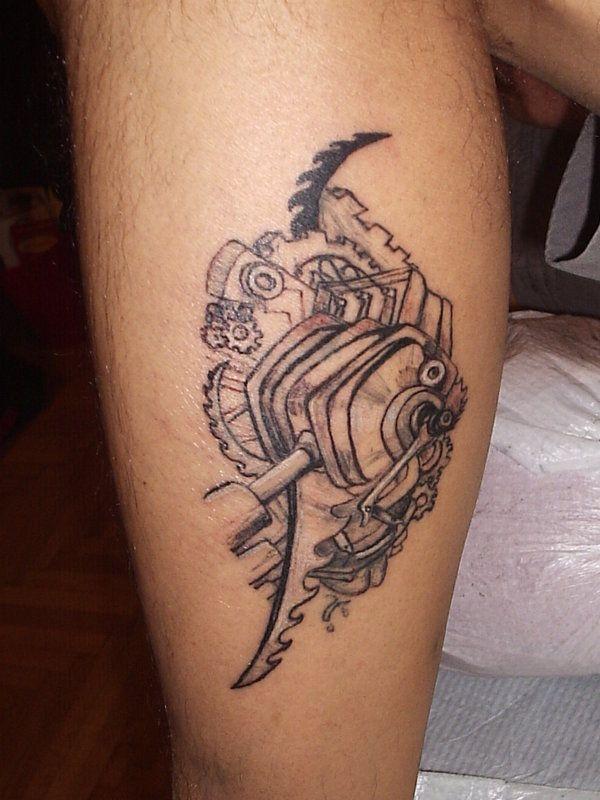 mechanic tattoo designs mechanical tattoo designs for men ...