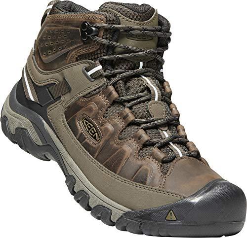 Keen Men S Targhee Iii Waterproof Mid Leather Hiking Boot
