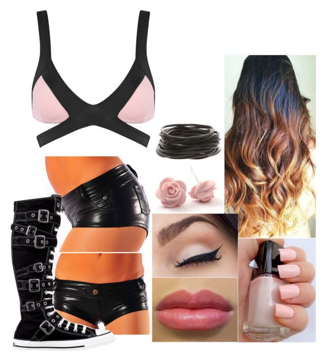 Ring Attire by samantha-vance on Polyvore featuring Agent Provocateur and Converse