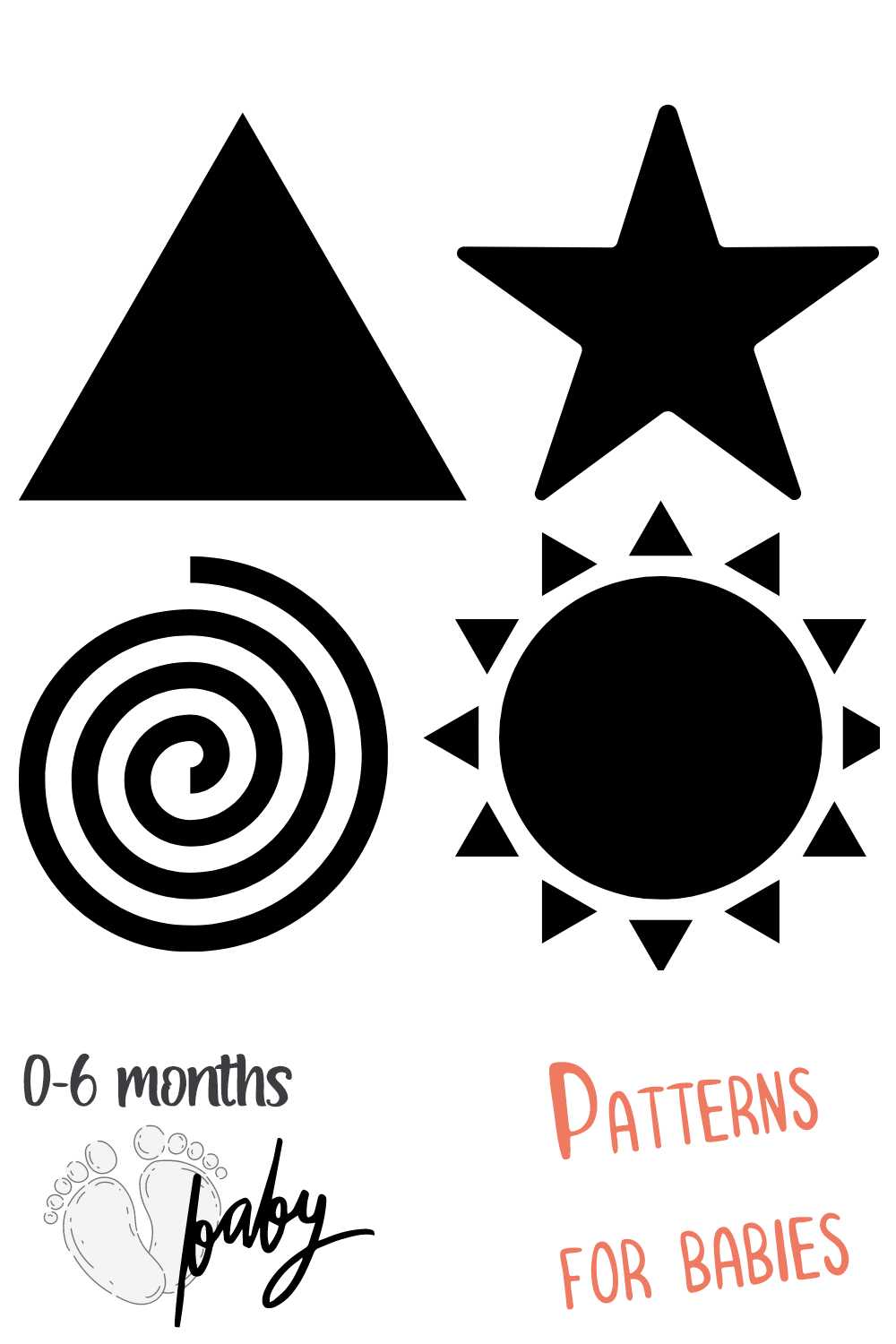Patterns for babies. in 2020 High contrast images
