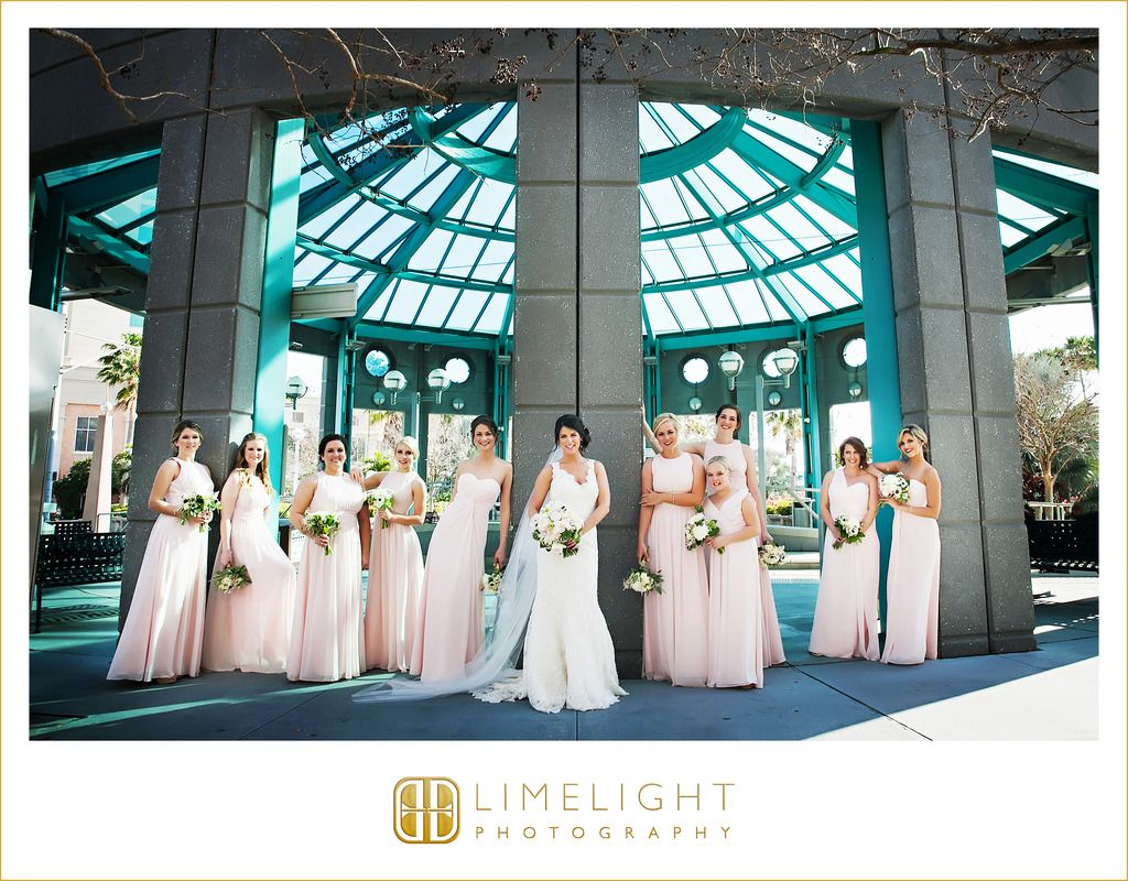 Embassy Suites Downtown Tampa, wedding venue, bridal party ...