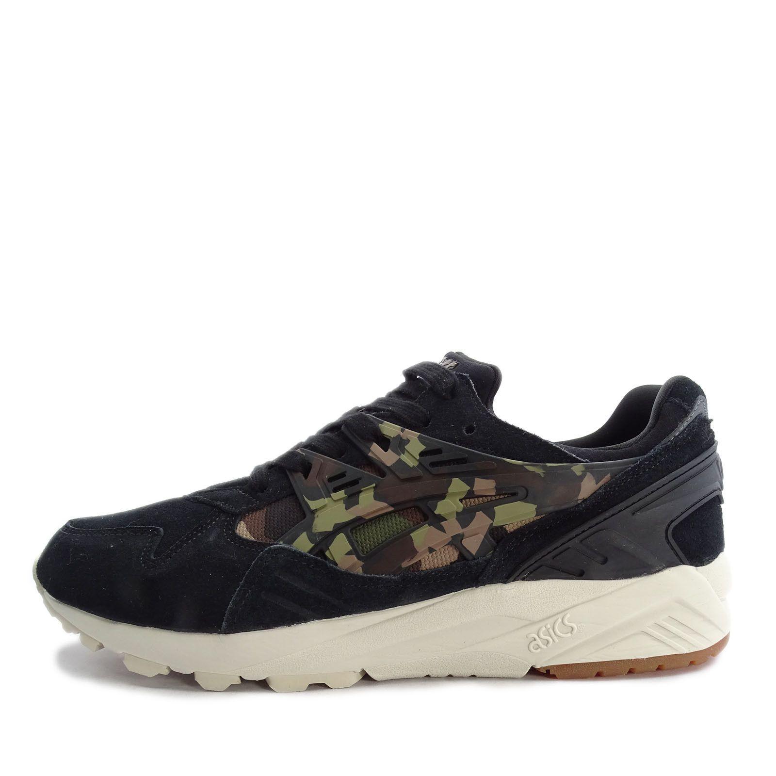 ASICS GEL KAYANO TRAINER Shoes Black Martini Olive Forest Camo SZ ( HL7C1 9086 )