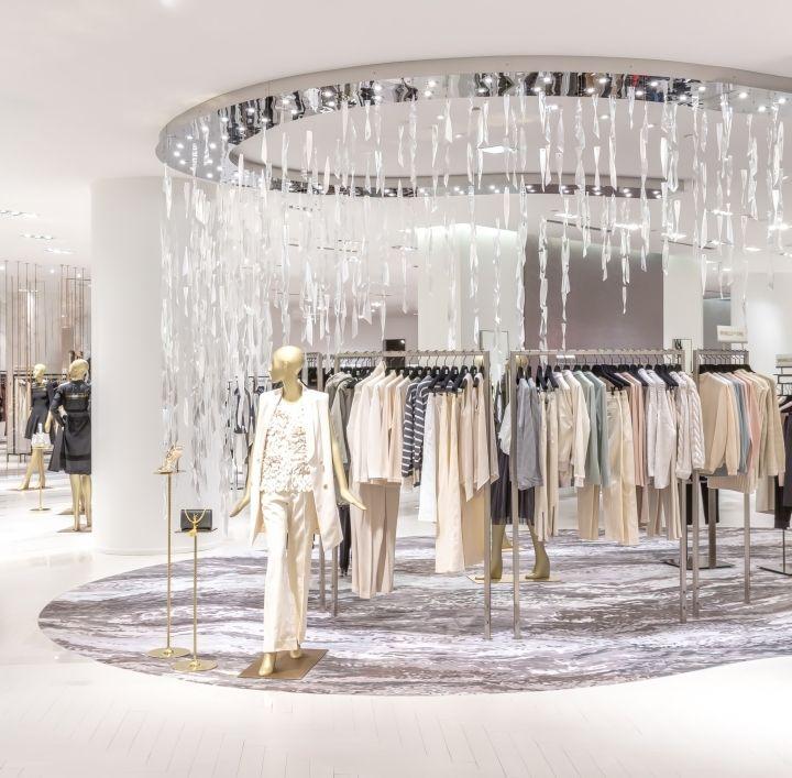 Saks Fifth Avenue By Frch Design Worldwide Saks Fifth Avenue Team Toronto Canada Retail Design Blog Shops Furniture