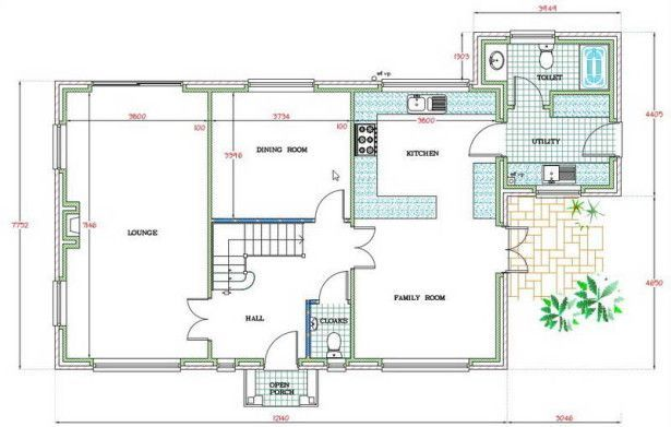 home design simple free floor plan software with family room and